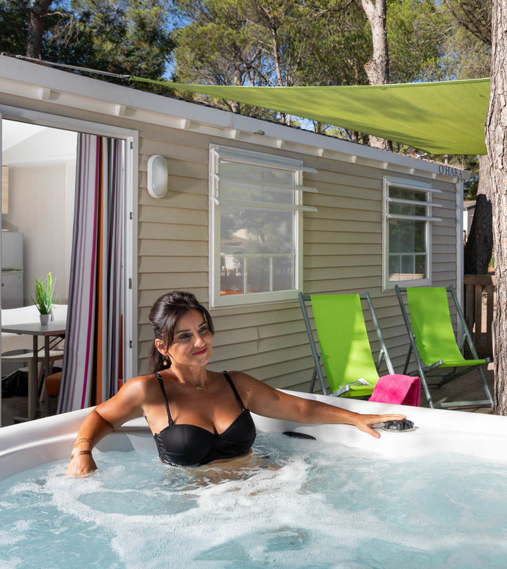 premium luxury mobile home rental frejus with spa