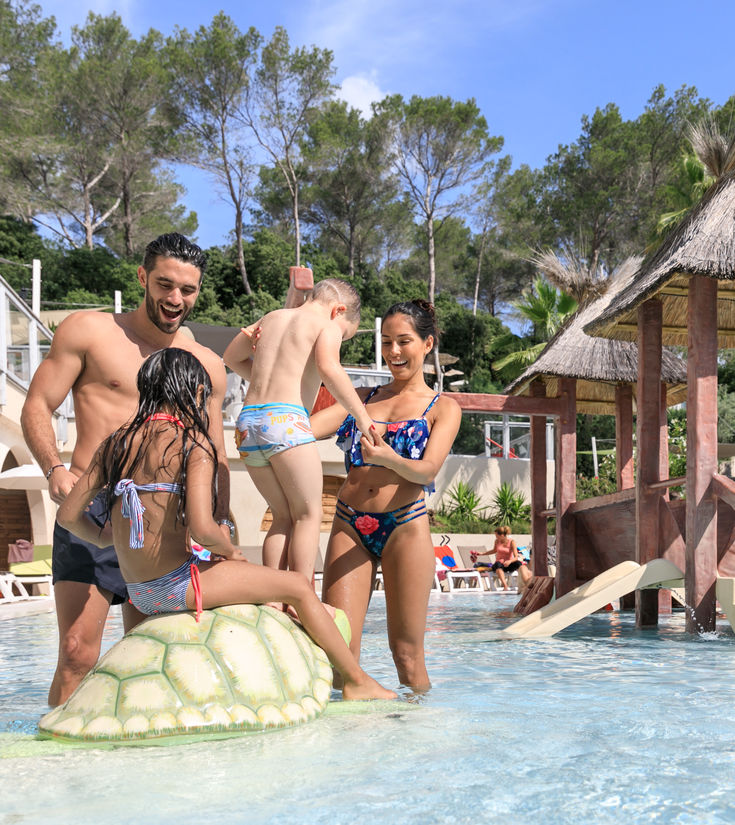 camping frejus famille