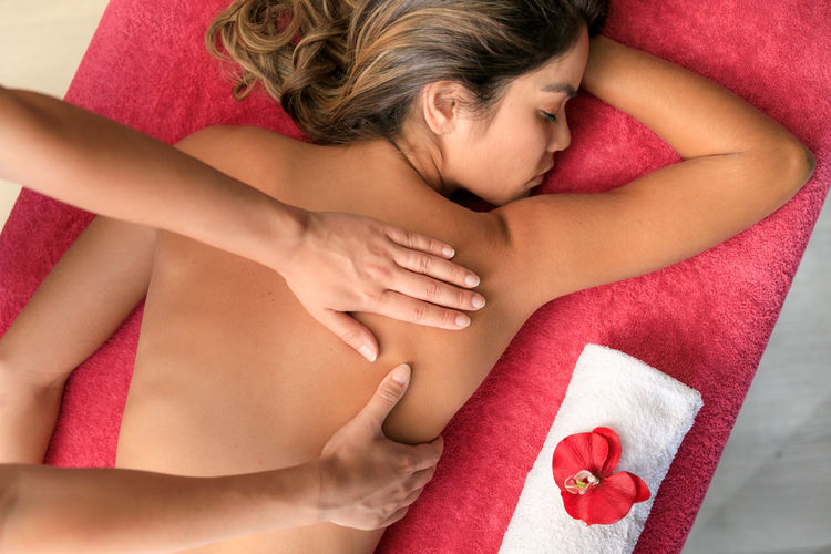 massages well-being relaxation